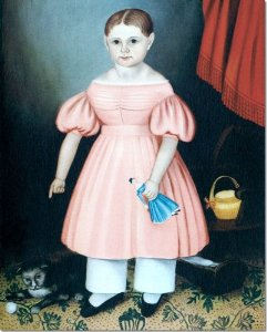Mary Jane Smith early American portrait