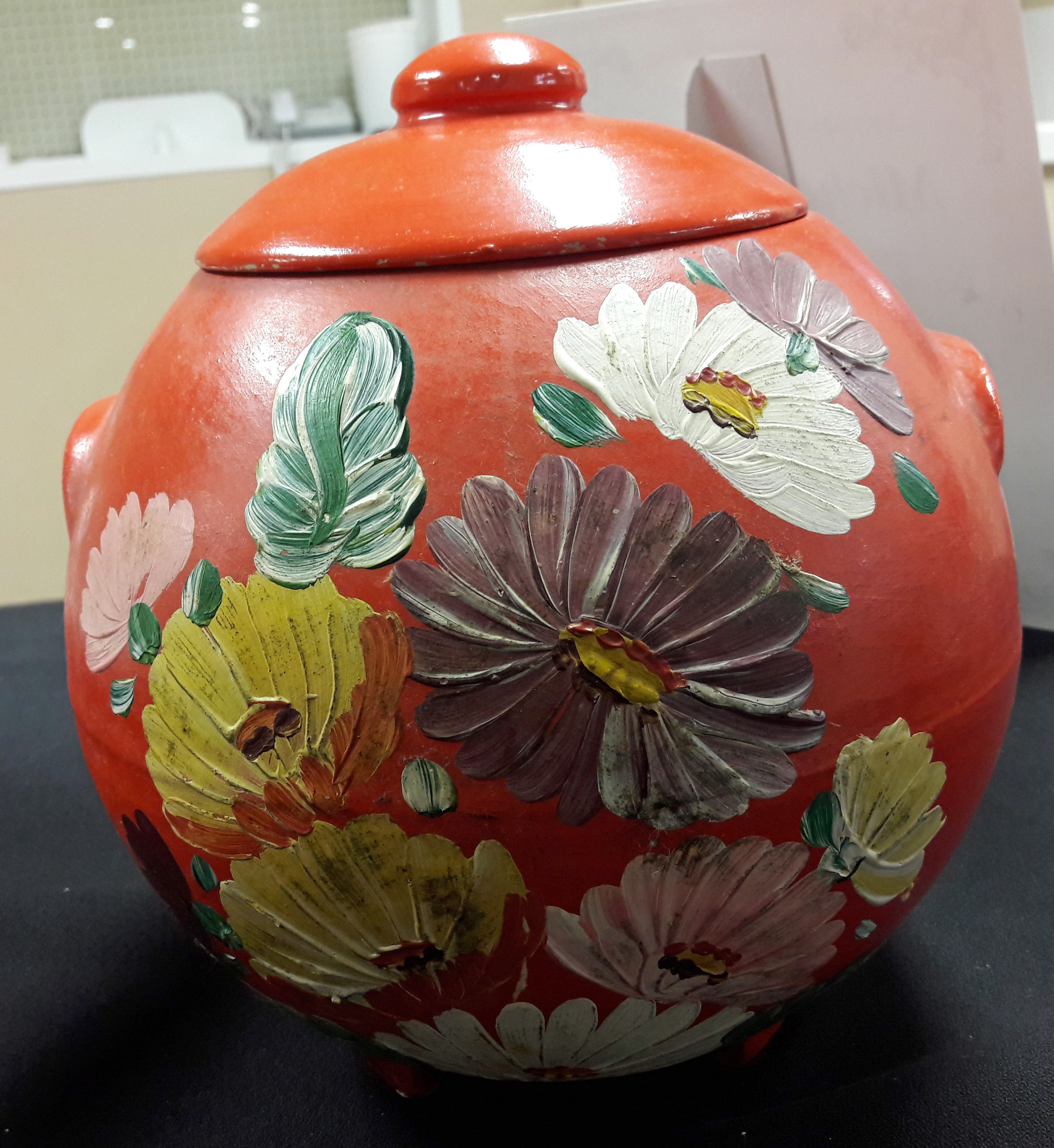 ransburg pottery cookie jar
